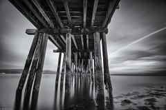 000595 (Efran Zavala) Tags: ocean california longexposure blackandwhite beach clouds 1 landscapes pier pacific hwy cal op mavericks californiacoast nd10
