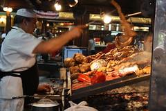 Mercardo del Puerto, Montevideo, Uraguay (Aliceandthewalrus) Tags: food latinamerica america fire market sausage bbq meat grill mercado latin montevideo uraguay