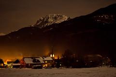 Rattendorf at night (ClimbingMan) Tags: white mountain snow alps nature berg night austria sterreich europa europe nacht natur alpen nassfeld gailtal karnischealpen rattendorf trpolach rosskofel manuelgabteni