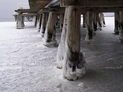 Oblodzone molo (magro_kr) Tags: winter sea ice pier poland polska balticsea baltic zima molo lód sopot lod morze bałtyk baltyk morzebałtyckie pomorze pomorskie morzebaltyckie