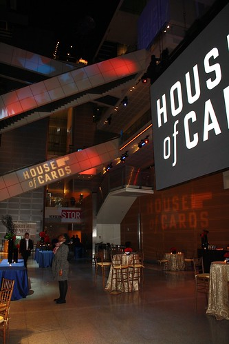 House of Cards Premiere at Newseum
