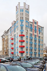 moscow - mosselprom building 1 (Doctor Casino) Tags: architecture architect 19231925 bldgtext