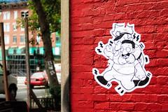 U Street Decal (clif_burns) Tags: washingtondc decals alleys ustreet