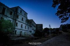Nocturnas en Benaocaz (Miguel ngel Ordez) Tags: longexposure largaexposicin stars night sky blackandwhite nocturnas estrellas cdiz andaluca