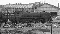 Newport South Wales 13th October 1968 (loose_grip_99) Tags: newport south wales uk railway railroad rail steam train engine locomotive bulleid southern sr pacific 462 34017 35030 westcountry merchantnavy gassteam uksteam scrap withdrawn abandoned buttigieg scrapyard october 1968 elderdempsterlines ilfacombe