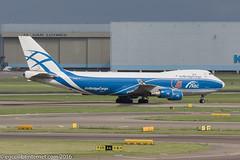 VQ-BIA - 2009 build Boeing B747-4KZFSCD, taxiing to parking on arrival at Schiphol (egcc) Tags: 1418 36785 abc abw ams airbridgecargo amsterdam b744 b747 b747400 b7474kzfscd b747f boeing cargo eham freighter lightroom n385ny oocbd ru schiphol vqbia