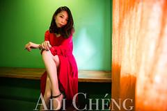 Adi_0037 (Adi Chng) Tags: adichng girl      redgreen