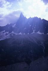 The Petit Dru, from Montenvers (andywalker1) Tags: andrewwalker americandirect dru petitdru chamonix alps alpineclimbing
