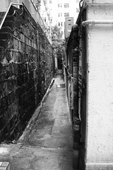 Hongkong (Jil Kristin) Tags: hongkong central china backlane bw black white digital canon
