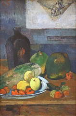 Nature morte de P. Gauguin (MAMC, Strasbourg) (dalbera) Tags: dalbera mamcs musedartmoderneetcontemporain strasbourg france alsace paulgauguin naturemorte