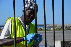 Kennedy27 (Genova citt digitale) Tags: richiedenti asilo genova piazzale kennedy agosto 2016 volontari nigeria lavoro ilva
