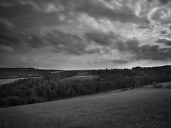 (przemur) Tags: gnojnicaiokolice 645 mediumformat pentax 645d longexposure nd1000 movingclouds bw digital vsco summer sky rural poland podkarpacie