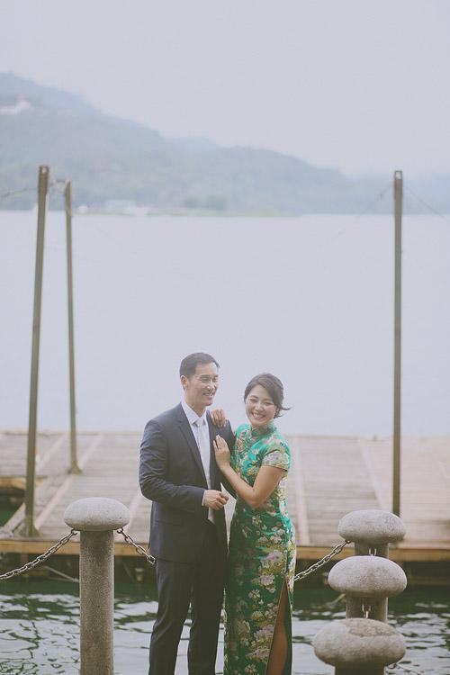 婚禮攝影-日月潭湖邊