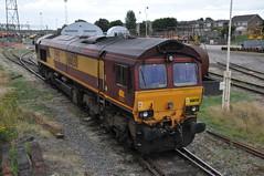 66030 Bescot Depot (Paul Baxter 362) Tags: class66 66030 ews dbs dbc dbschenker dbcargo bescot bescotyard bescottmd
