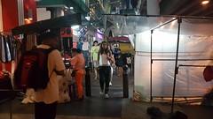 Silom Road night vendors (Khaosod English) Tags: market silom bma