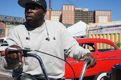 Trike (dtanist) Tags: nyc newyork newyorkcity new york city sony a7 contax zeiss carlzeiss carl planar 45mm brooklyn coney island hot rod tattoo hotrod show trike tricycle cyclist