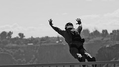 Jumper (Kevin Coppock) Tags: jump base basejump basejumper basejumping jumper jumping bridge perrinebridge perrinememorialbridge perrine twinfalls idaho id samsungnx50150mmf28 samsung nx nx1 snakecanyon snakeriver