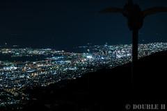 a night view from Mt. Rokko (1) Kobe City area (double-h) Tags: powershotg7x powershot g7x nightview kobe kobecity mtrokko rokkosan tenrandai