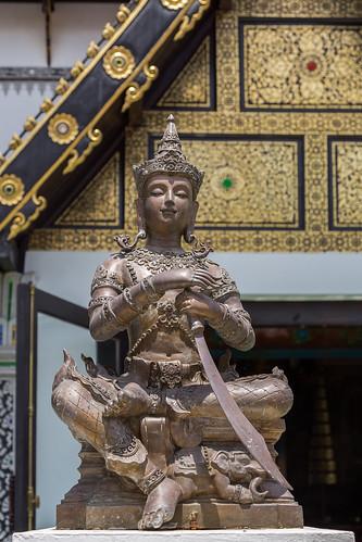 2016/07/25 11h31 Sao Intakhin (Wat Chedi Luang)