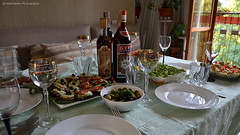 Festive serving (gala.timchenko) Tags: serving table drink food birthday wine wineglass interior deliciousfood yummies