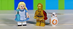 Alice in a different kind of Wonderland (Busted.Knuckles) Tags: home toys lego minifigures aliceinwonderland c3po bb8 pentaxk3 camerautility5