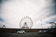 Big Wheel II (bigalid) Tags: film 35mm plastic july 2016 vuws england fujifilm superia xtra400 superheadzwideandslim c41 skegness seaside amusements wheel ferris