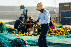 DSC_5892 (fatimaouf) Tags: cordoba spain tanger herculescave africa fisherman sea waves countryside bird bluedoor