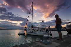 waiting for - On Explore (Marco Brunetti) Tags: ortigia pentaxk30 pentax1224 sunset sicily sea seascape siracusa syracuse sky sicilia mare