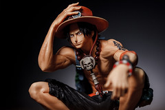 one piece ace figure (hiroshi_arai) Tags: onepiece ace figure    canon 60d macro macrolens