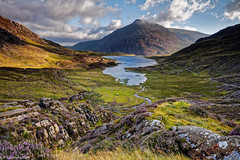 Cwm Idwal , North Wales , UK (scarramooch) Tags: wales water mountians uk outside outdoors north d7100 nikon snowdonia rocks landscape clouds view