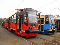 Konstal/Modertrans 105N-AC, #726, Tramwaje lskie (transport131) Tags: tram tramwaj t kzk gop bdzin konstalmodertrans 105nac