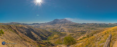 Mount St. Helens panorama. (Loowit Imaging - Steve Rosenow, Photographer) Tags: mountsthelens mtsthelens sthelens volcano mountain landscape scenic scenery pacificnorthwest volcaniclandscape nikon nikond5500 panoramic panorama