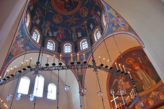 DSC_8517 (AndrewGould) Tags: orthodox dome fresco mural iconography byzantine russian holy ascension