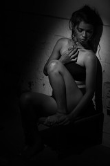 Unsaid (Tejes Nayak) Tags: blacktop body colorless curves despair garment legs lighting monochrome singlelight storyteller unsaid tejesn