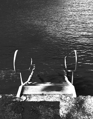 (mblaeck) Tags: water stairs theshire thesutherlandshire gymeabaybaths blackandwhite bw monochrome stone woodensteps samsung samsunggalaxys5 samsunggalaxy samsunggs5 samsungmobile gs5 takenwithphone takenwithsamsung takenwithmobile phonography mobilephonography outdoor stairsinwater hightide