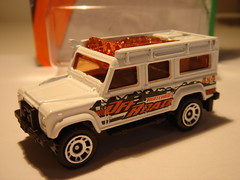 MATCHBOX LAND-ROVER DEFENDER 110 NO30 MATCHBOX OFF ROAD 1/64 (ambassador84 OVER 6 MILLION VIEWS. :-)) Tags: matchbox landroverdefender110 britishleyland diecast