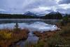 Amanece en Herbert Lake (robertopastor) Tags: américa canada canadianrockiesmountain canadá fuji herbertlake montañasrocosas robertopastor viaje xt2 xf1655mm