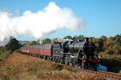 20051113     42968 (paulbrankin775) Tags: stanier mogul 42968 260 bewdley steam smoke tunnel svr severn valley railway
