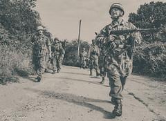 FJR5-20 (Andy Darby) Tags: bosworthfjr5 bosworth battlefield railway battlefieldrailway fjr5 fallschirmjager german reenactment uniform k98 mg42 ppsh41 marching war andydarby