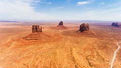 Monument Valley 1 (digital-dreams) Tags: monumentvalley drone aerial johnsdigitaldreamscom johnchandler djiphantom4 oljatomonumentvalley arizona unitedstates us