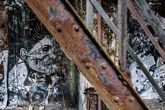 Spirit of the rust (ericbaygon) Tags: art rust rusty artistique d300s nikon nikonpassion black noir abandoned abandonn rouille