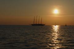 ahoi. (vornoff) Tags: slovenia piran darktable sunset