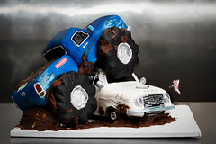 MonsterTruck_001 (DWRowan) Tags: ford monster cake misty truck demolition decorating falcon pastry bigfoot crush schmidts monstertruck cakedecorating