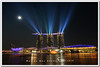 Singapore marina bay sands (fiftymm99) Tags: lights singapore waterfront lasershow attraction marinabay integratedresort wonderfull hotelbuilding waterspectacular artsciencemuseum singaporemarinabaysands