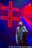 Marilyn Manson @ Twins Of Evil Tour, DTE Energy Music Theatre, Clarkston, MI - 10-12-12