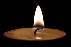 Candle Flame (Mental Balance) Tags: black canon dark fire candle flame mum alev ate