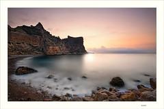 Cala del moraig (Paco Herrero) Tags: sunrise amanecer spreader moraig sognidreams