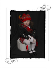 Hello from Scotland (Elsachula@yahoo.com) Tags: smile scotland toddler kilt great daughter grand miller clan elsita