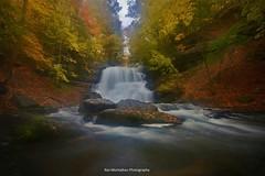 decew lower falls autumn (Rex Montalban Photography) Tags: autumn waterfalls decew nothdr rexmontalbanphotography pse9 photoshopelements9 thesecondorlowerwaterfall