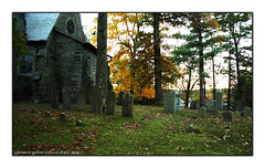 Church and grave stones. (Chris Lupetti: www.chrislupetti.com) Tags: chris ny fall photography photo google photographer bearmountain fallfoliage nystate lupetti chrislupetti photographybychrislupetti
